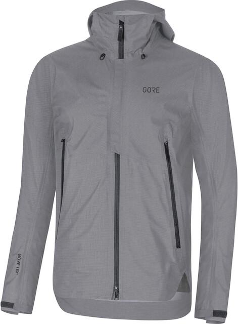 GORE WEAR H5 Gore Tex Active Hooded Jacket Herre terra grey